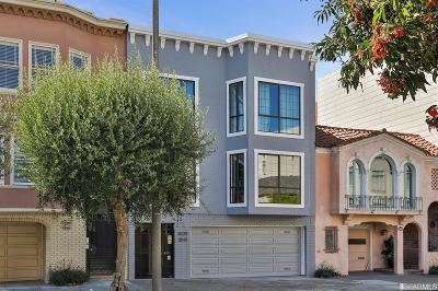 San Francisco Condo/Townhouse For Sale: 3539 Webster