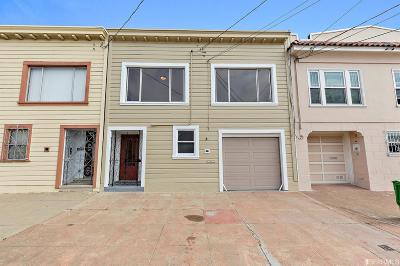 San Francisco Single Family Home For Sale: 2042 Carroll Ave
