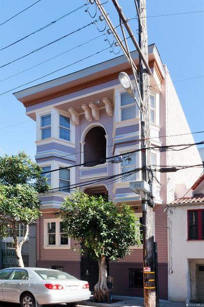 San Francisco Multi Family Home For Sale: 1353 Stevenson St