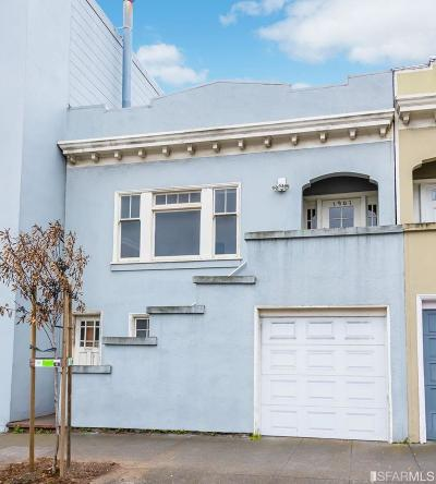 San Francisco Single Family Home For Sale: 1909 Judah St