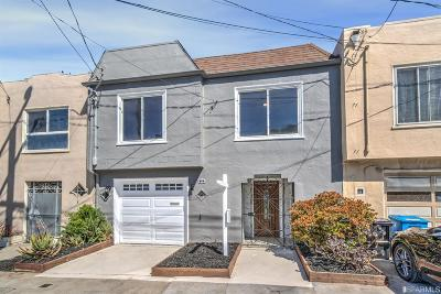 San Francisco Single Family Home For Sale: 62 Chicago Way