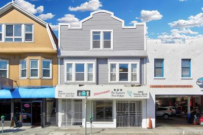 Multi Family Home For Sale: 4820 4824 Geary Blvd