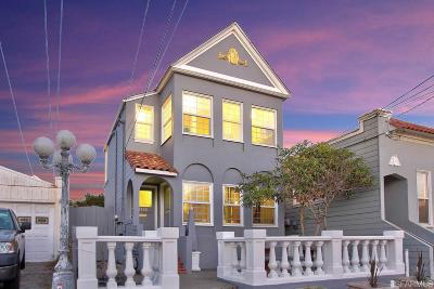 San Francisco Multi Family Home For Sale: 1358 1360 48th Ave