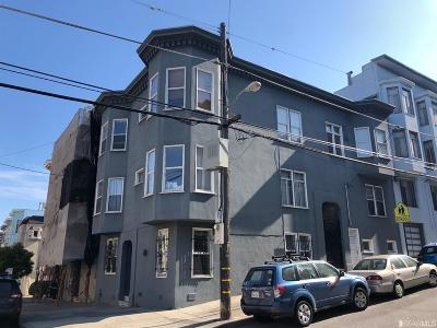 San Francisco Multi Family Home For Sale: 1590 Washington St