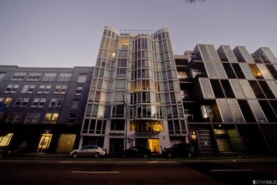 San Francisco Condo/Townhouse For Sale: 829 Folsom St #406