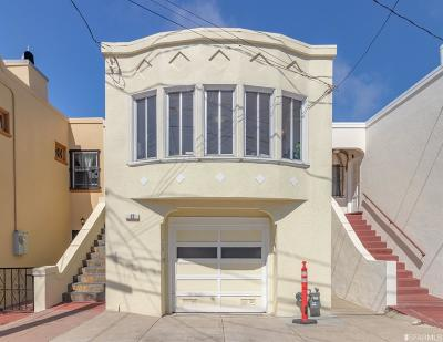 San Francisco Single Family Home For Sale: 12 Brumiss Ter