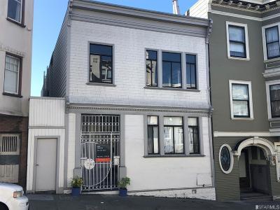San Francisco Multi Family Home For Sale: 1475 1477 Jackson St