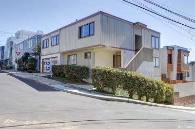 San Francisco Single Family Home For Sale: 35 Hiliritas Ave