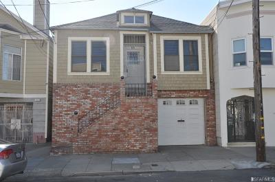 San Francisco Single Family Home For Sale: 148 Brussels St