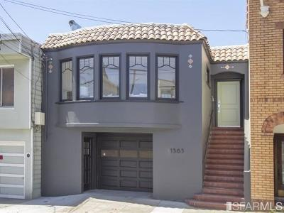 San Francisco Single Family Home For Sale: 1563 Revere Ave
