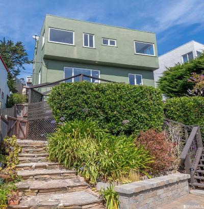 San Francisco Single Family Home For Sale: 68 Burlwood Dr