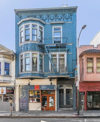 San Francisco Multi Family Home For Sale: 3111 24th St