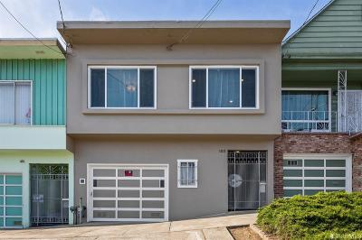 San Francisco Single Family Home For Sale: 1011 Hollister Ave
