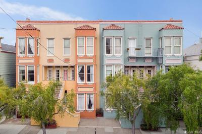 San Francisco Multi Family Home For Sale: 371 381 San Jose Ave