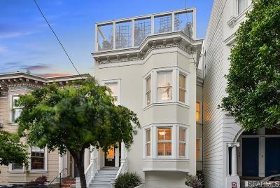 San Francisco Multi Family Home For Sale: 2106 2108 Leavenworth St