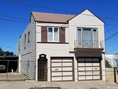San Francisco Multi Family Home For Sale: 1035 Silver Ave