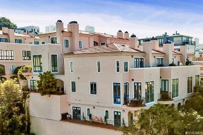Condo/Townhouse For Sale: 186 Francisco St #4