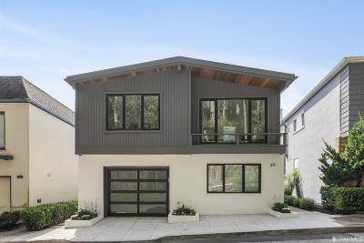 San Francisco Single Family Home For Sale: 49 Christopher Dr