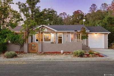 Napa County Single Family Home For Sale: 1148 Rimrock Dr