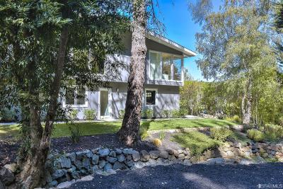 Marin County Single Family Home For Sale: 340 Laurel Way