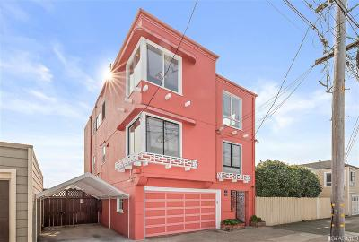 San Francisco Multi Family Home For Sale: 925 927 Santiago St