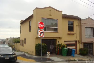 San Francisco Single Family Home For Sale: 1 Cielito Dr