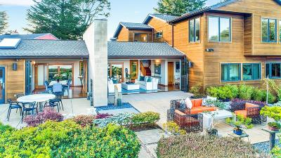 Marin County Single Family Home For Sale: 95 Cloud View Rd