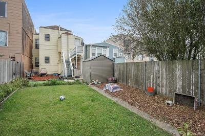 San Francisco Multi Family Home For Sale: 1231 1233 41st Ave