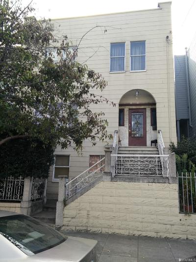 Single Family Home For Sale: 1358 Van Ness Ave