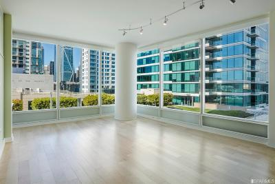 San Francisco County Condo/Townhouse For Sale: 425 1st St #807