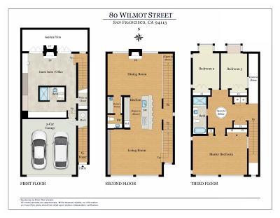 San Francisco Single Family Home For Sale: 80 Wilmot St