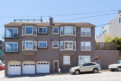 San Francisco Multi Family Home For Sale: 2663 2665 Leavenworth St