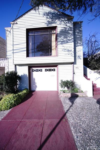 San Francisco Single Family Home For Sale: 1920 Ortega St