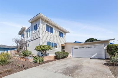 Pacifica CA Single Family Home For Sale: $1,200,000