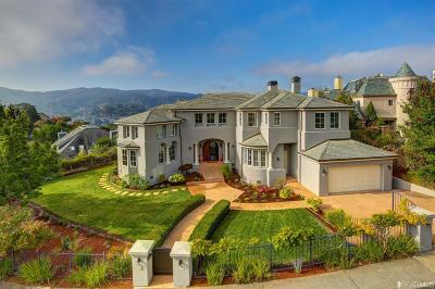 Marin County Single Family Home For Sale: 115 Great Circle Dr