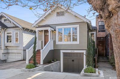 San Francisco Single Family Home For Sale: 6529 California St