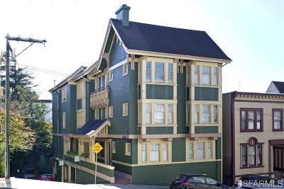 San Francisco Multi Family Home For Sale: 1409 1421 Sacramento St