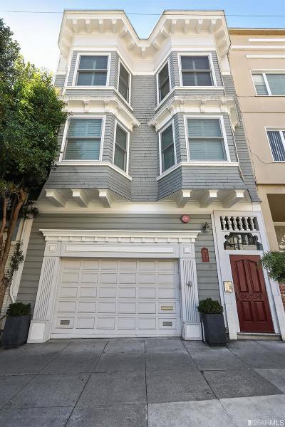 San Francisco Condo/Townhouse For Sale: 2417 Larkin St