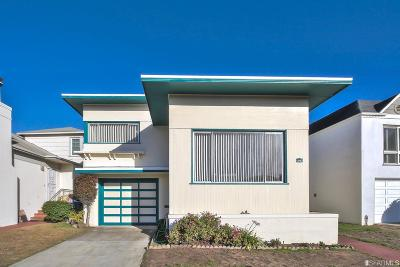 Daly City Single Family Home For Sale: 78 Lake Forest Dr