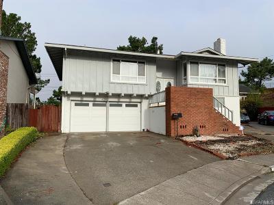 San Bruno Single Family Home For Sale: 120 Siskiyou Ct