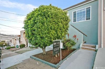 San Francisco County Single Family Home For Sale: 37 Maddux Ave