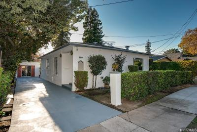 San Mateo Single Family Home Act Cont Show: 1262 Nadina St