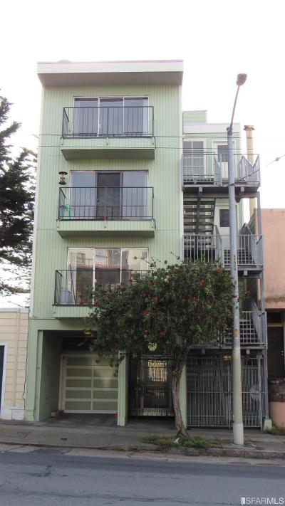 San Francisco Multi Family Home For Sale: 2121 Turk St