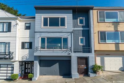 San Francisco Single Family Home For Sale: 2032 14th Ave