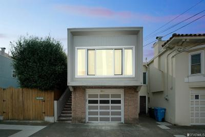 San Francisco Single Family Home For Sale: 525 Holloway Ave