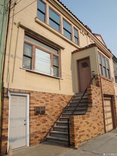 San Francisco Multi Family Home For Sale: 29 Maynard St
