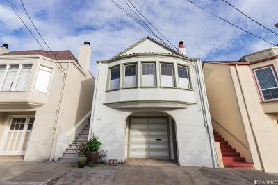 San Francisco Single Family Home For Sale: 2638 21st Ave