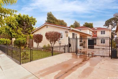 San Bruno Single Family Home Contingent - Show: 142 146 San Felipe Ave