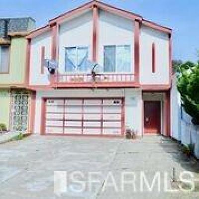 Daly City Single Family Home For Sale: 433 Ford St