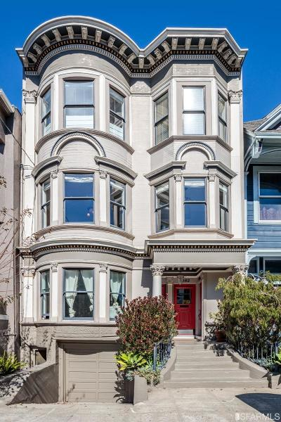 San Francisco County Condo/Townhouse For Sale: 1662 Page St